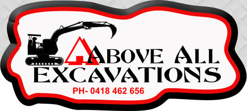 Above All Excavations Excavator-Mini Excavator-Bobcat Hire - PH:0418 462 656